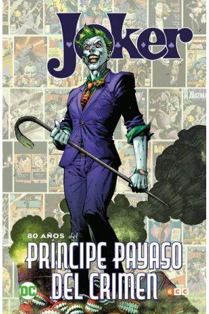 JOKER 80 AÑOS DEL PRINCIPE PAYASO + REGALO CUADERNO BATMAN