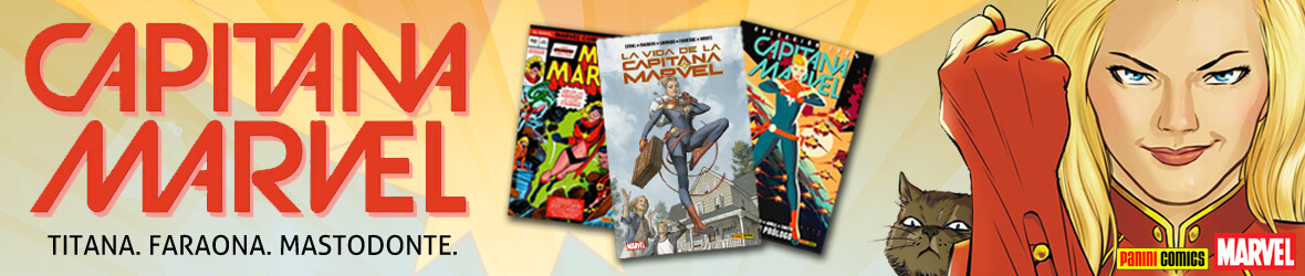 capitana marvel comics