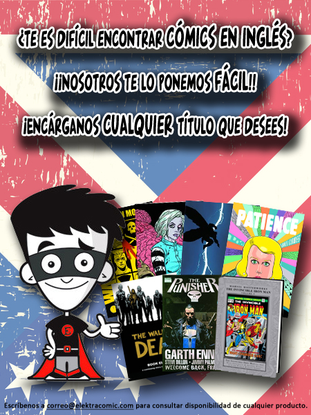 Previews comics ingles